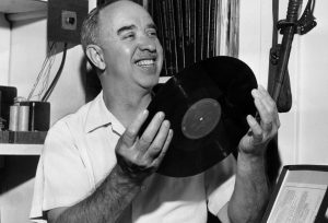 Robert Whitney with a First Edition Record